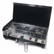 Kampa Cucina Gas Cooker Double Hob & Grill Stove